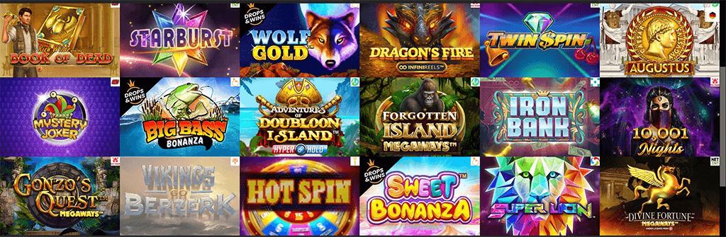 Spiele im Spins Cruise Casino