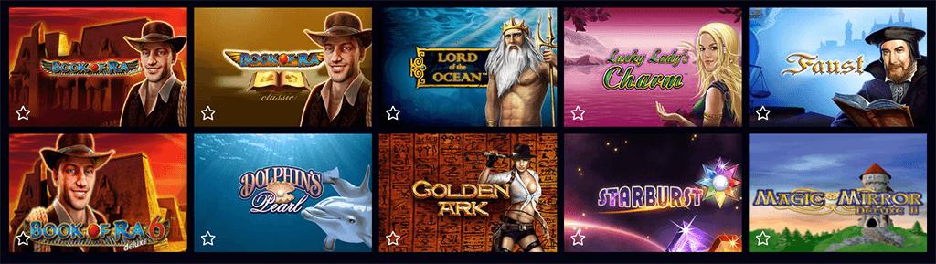 Spieleangebot im 4 Crowns Casino