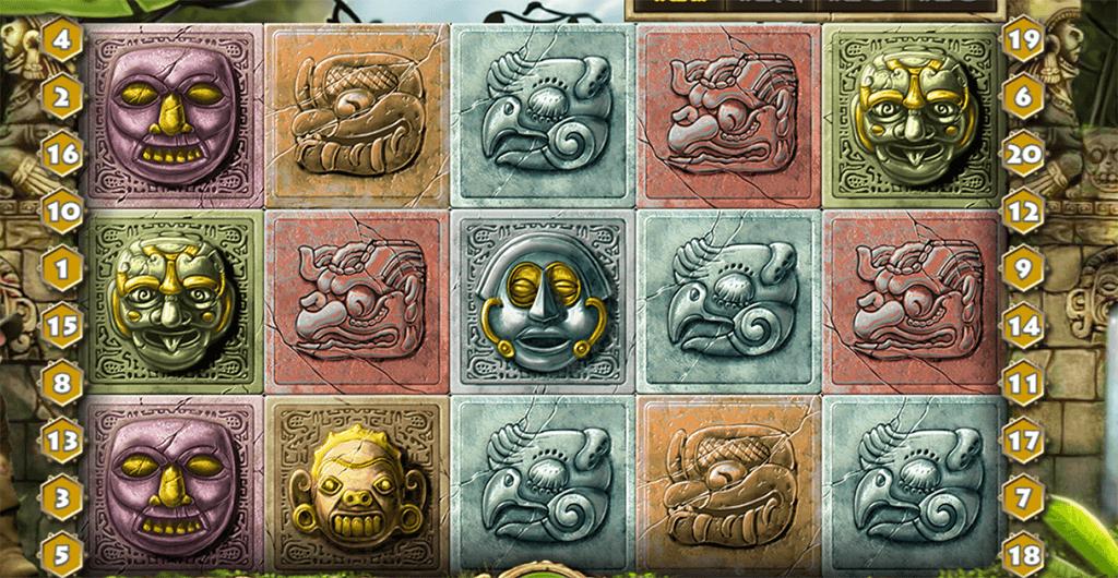 Spielsymbole bei Gonzos Quest