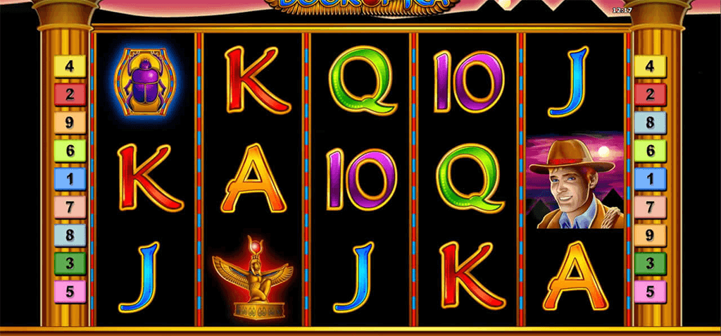 Book of Ra im 4 Crowns Casino
