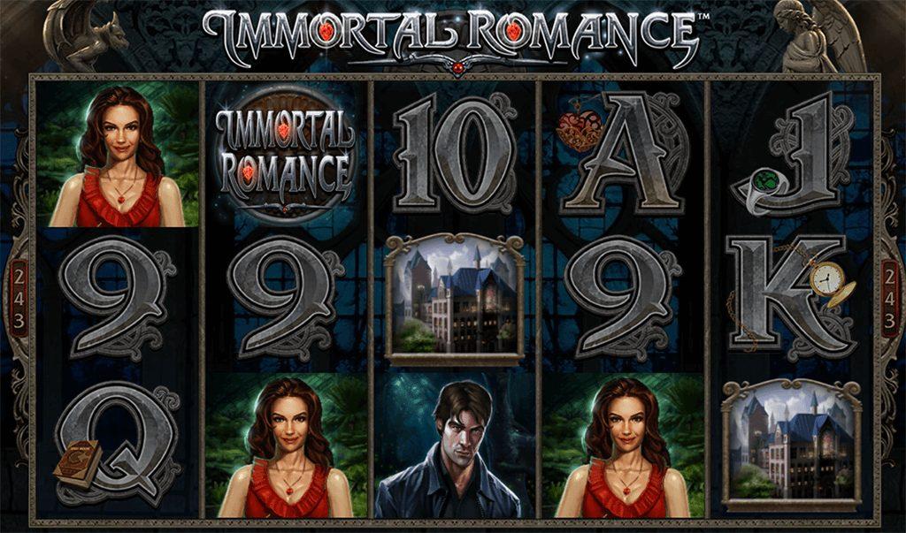 Gewinne bei Immortal Romance